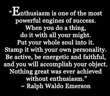 Ralph Waldo Emerson Quotes Enthusiasm