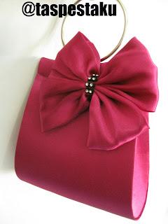 Handmade Tas Pesta Pink Fanta