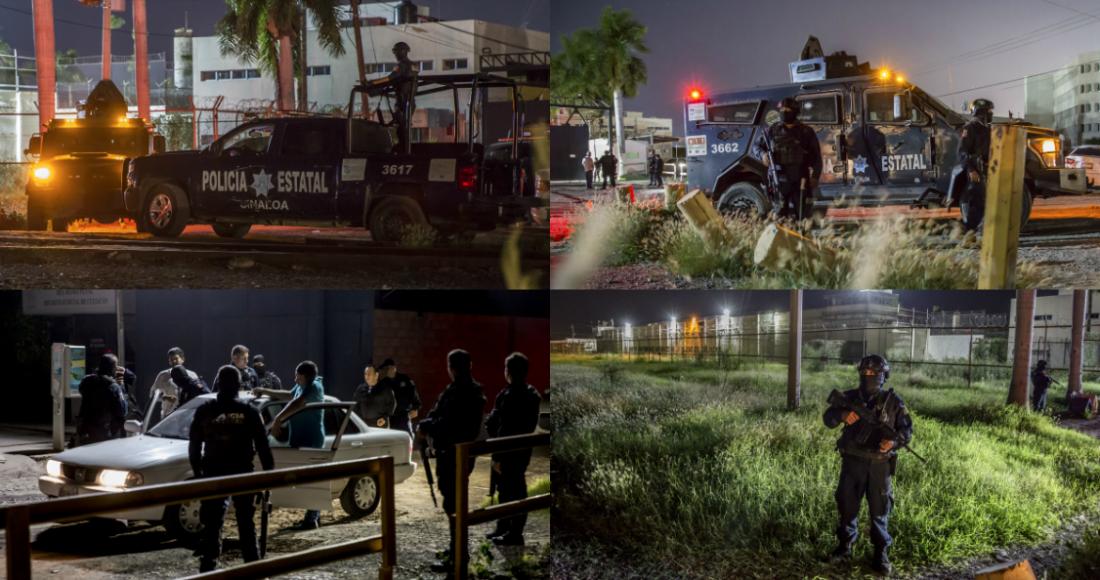 Fuerzas Estatales y Militares toman calles de Culiacán después de que el Cartel de Sinaloa mostrara su fuerte poderío
