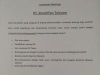 Lowongan Kerja PT. Smartfren Telecom (Ditutup 10 Oktober 2017)