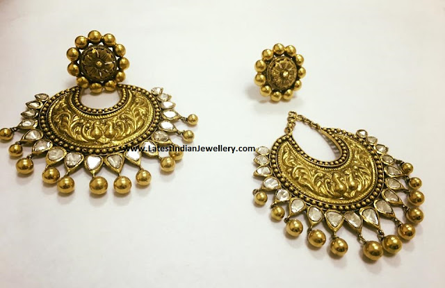 Detachable Antique Chandbalis