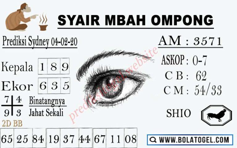 Syair Mbah Ompong
