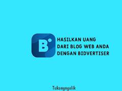 Hasilkan Uang Dari Blog Web Anda Dengan Bidvertiser