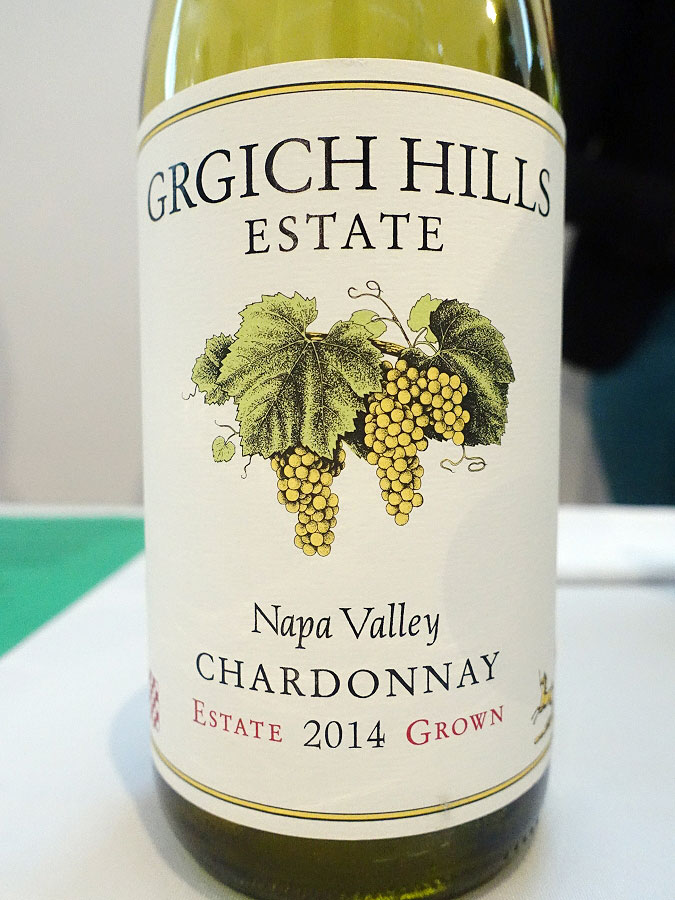 Grgich Hills Estate Grown Chardonnay 2014 (93 pts)