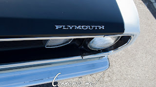 1972 Plymouth Duster Hood Badge