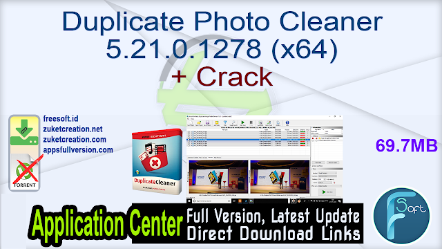 Duplicate Photo Cleaner 5.21.0.1278 (x64) + Crack