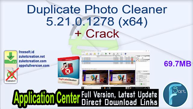 Duplicate Photo Cleaner 5.21.0.1278 (x64) + Crack