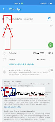 How To Set Schedule Messages On WhatsApp | SKEDit Scheduling App