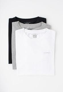 John Richmond Underwear - Мъжки домашни Тениски, 3 броя