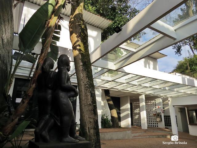 Fotocomposição externa no Museu Lasar Segall - Vila Mariana - São Paulo