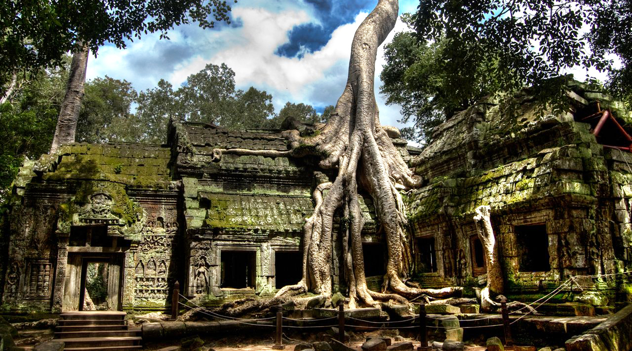 Wisata Agama di Ta Porm Kamboja