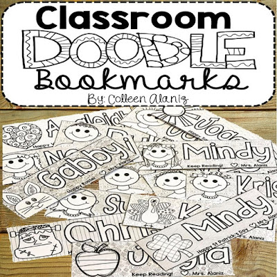 https://www.teacherspayteachers.com/Product/Classroom-Doodle-Bookmarks-3033441