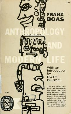 Anthropology and modern life Free PDF book