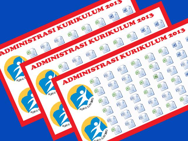 Aplikasi Kumpulan Administrasi SD SMP SMA Kurikulum 2013 Terlengkap