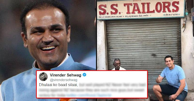 Virendra Sehwag  - Ross Taylor