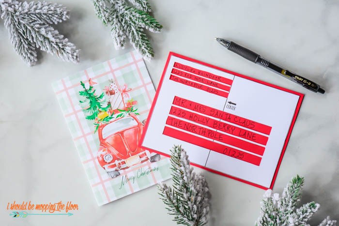 How to Address Christmas Cards