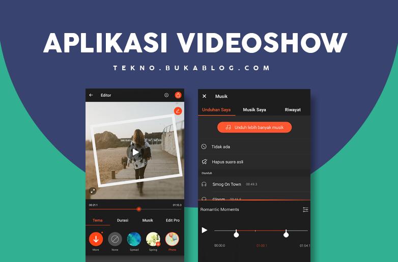 Edit Video dengan VideoShow