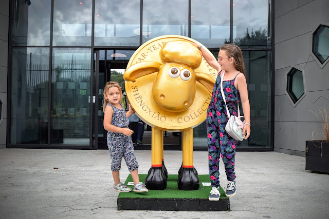 Royal Mint, The Royal Mint Experience, Llantrisant, days out, Shaun the Sheep, Shaun-Xaio,
