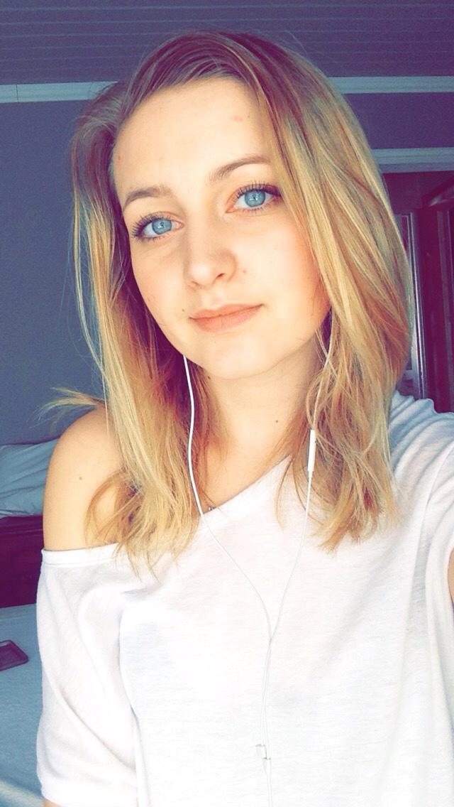 Cute white girl