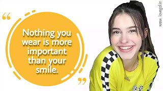 smile quotes for girls