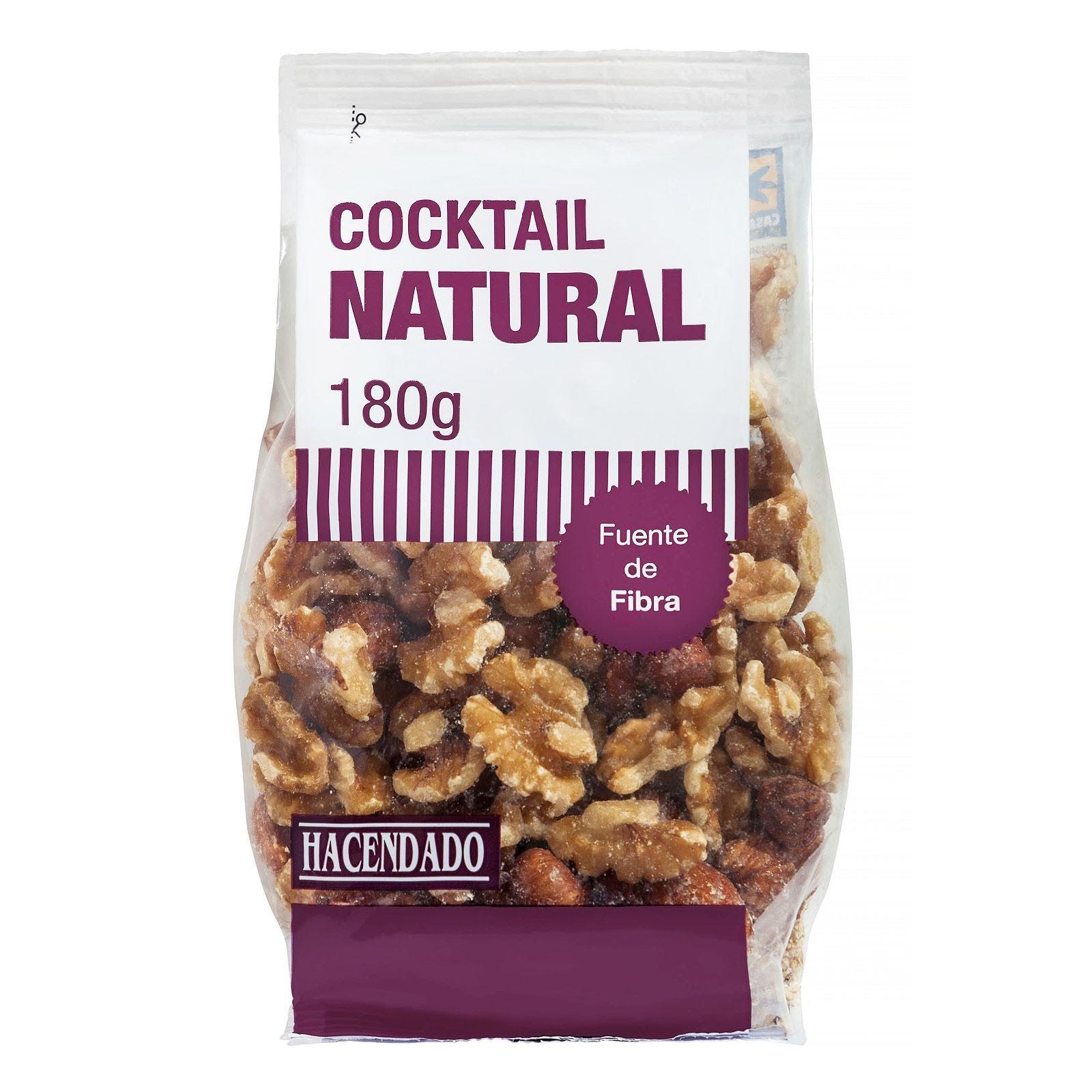 Cocktail natural Hacendado