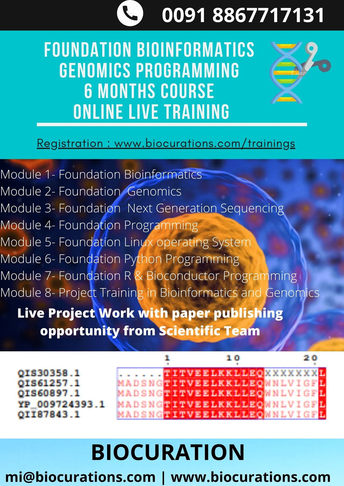 Foundation Bioinformatics