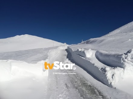 Βελούχι: Κατάλευκες πίστες...με κλειστό το χιονοδρομικό κέντρο