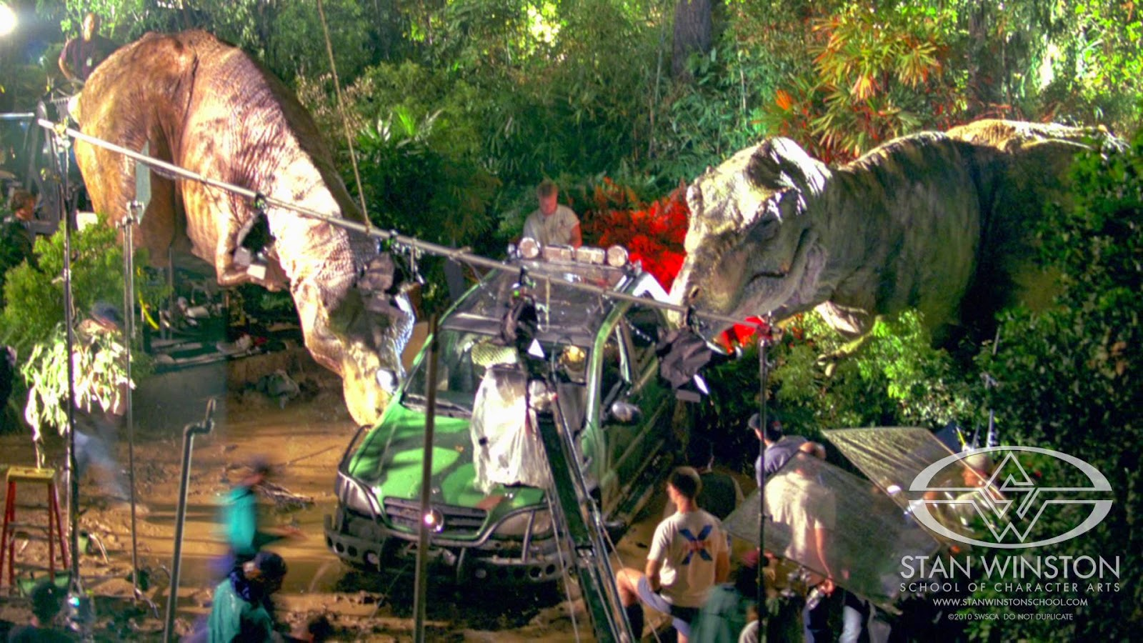 """Behind the Scenes on """"The Lost World: Jurassic Park"""""""