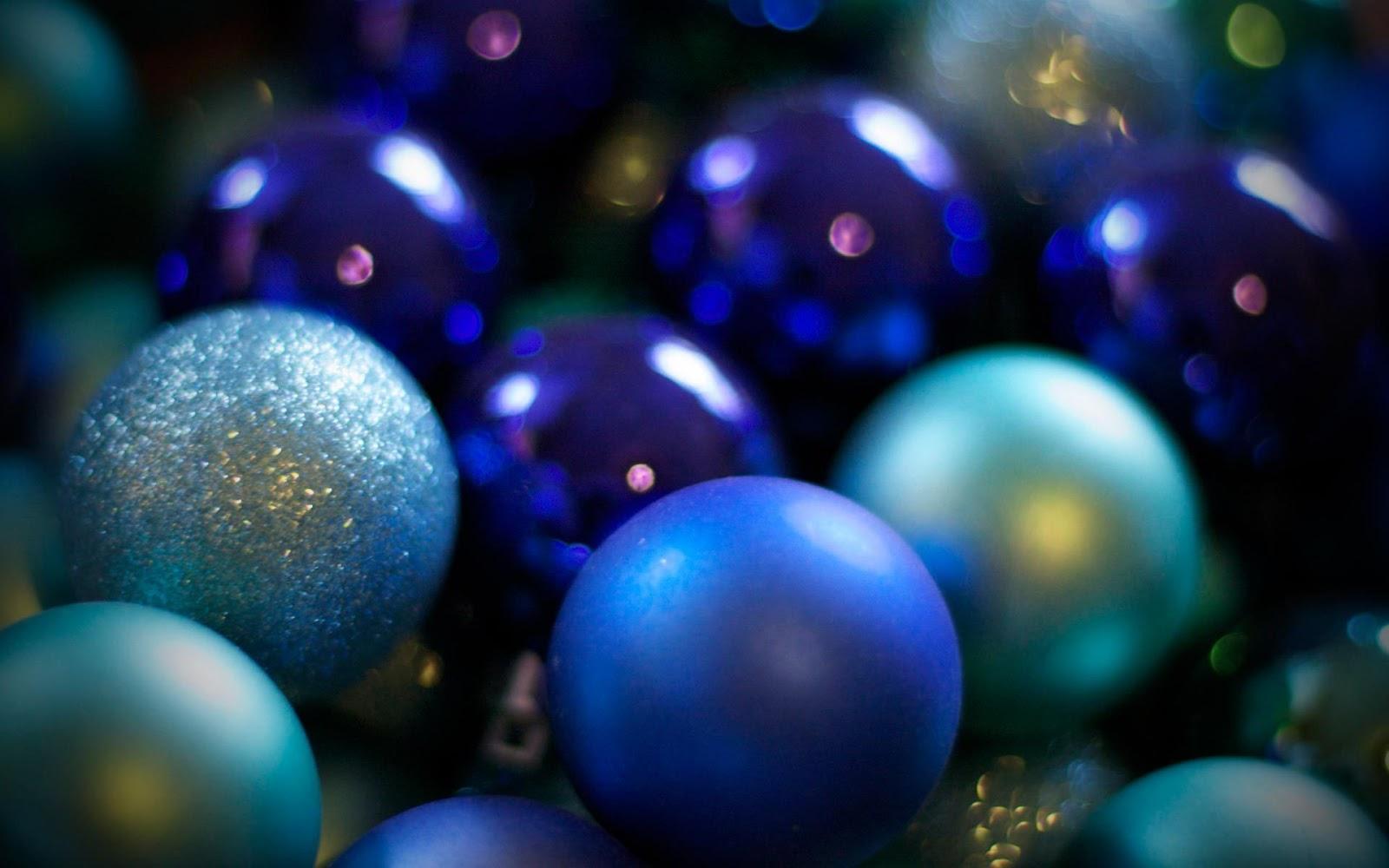Fondo De Pantalla Abstracto Bolas Azules: Wallpapernarium: Diferentes Bolas De Navidad Azules