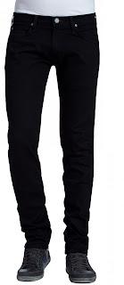 Lee Herren Jeans Luke - Slim Tapered - Clean Black