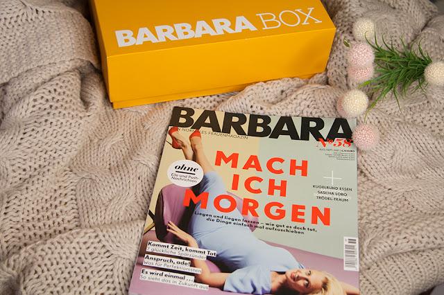 "Barbara Box - September 2021 ""Girls just wanna have sun"" - unboxing"