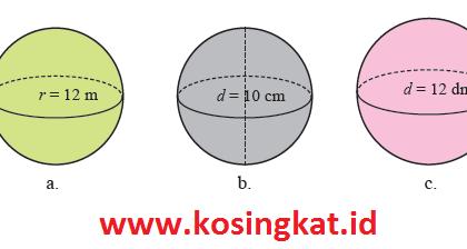Kunci Jawaban Matematika Kelas 9 Halaman 303 - 305 Latihan 5.3
