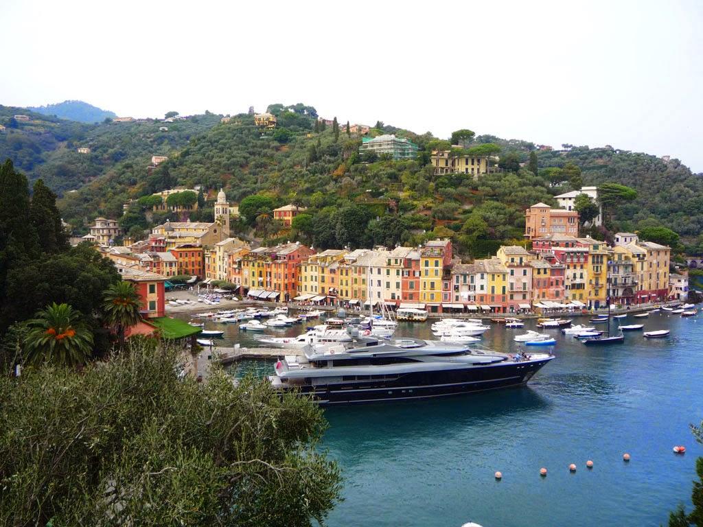 Mega yates em Portofino