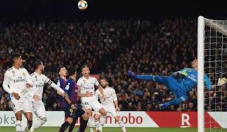 ملخص واهداف مباراة ريال مدريد 0 - 3 برشلونة  في إياب نصف نهائي كأس الملك