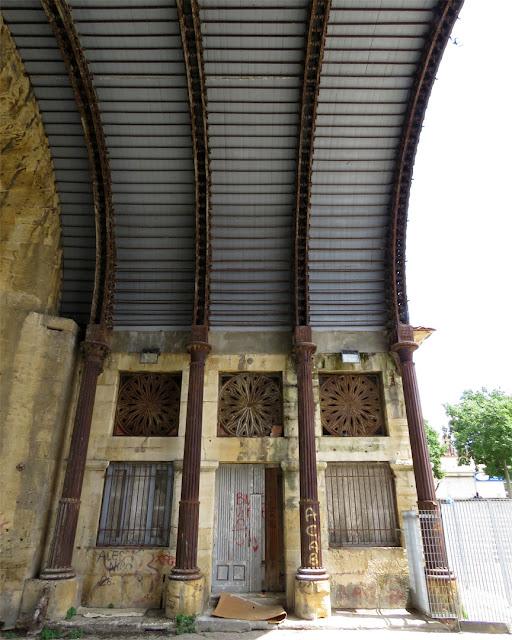 La volta in ghisa di Porta San Marco, Livorno