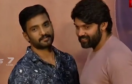 Santhanam became Hero by real fight: Arya
