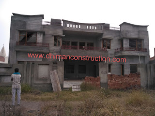 House construction work Images, house elevation images and house front