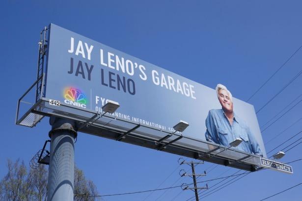 Jay Lenos Garage 2019 Emmy FYC billboard