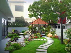 Tiểu cảnh sân vườn đẹp nhất cho ngôi nhà 3