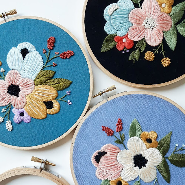 Learn how to embroider with these simple tips and tricks from Cinder and Honey, the beautiful imagery found on Pinterest. Caitlin suggests a range of threads to use, what patterns to begin with and also what stitches to use.