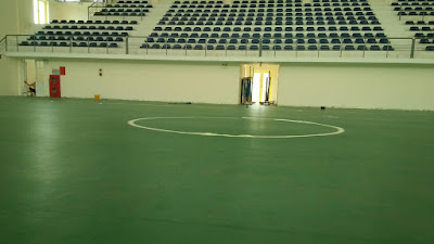 Dự án sàn nhựa thể thao tại Trường THPT Nguyễn Du, Hà Nội