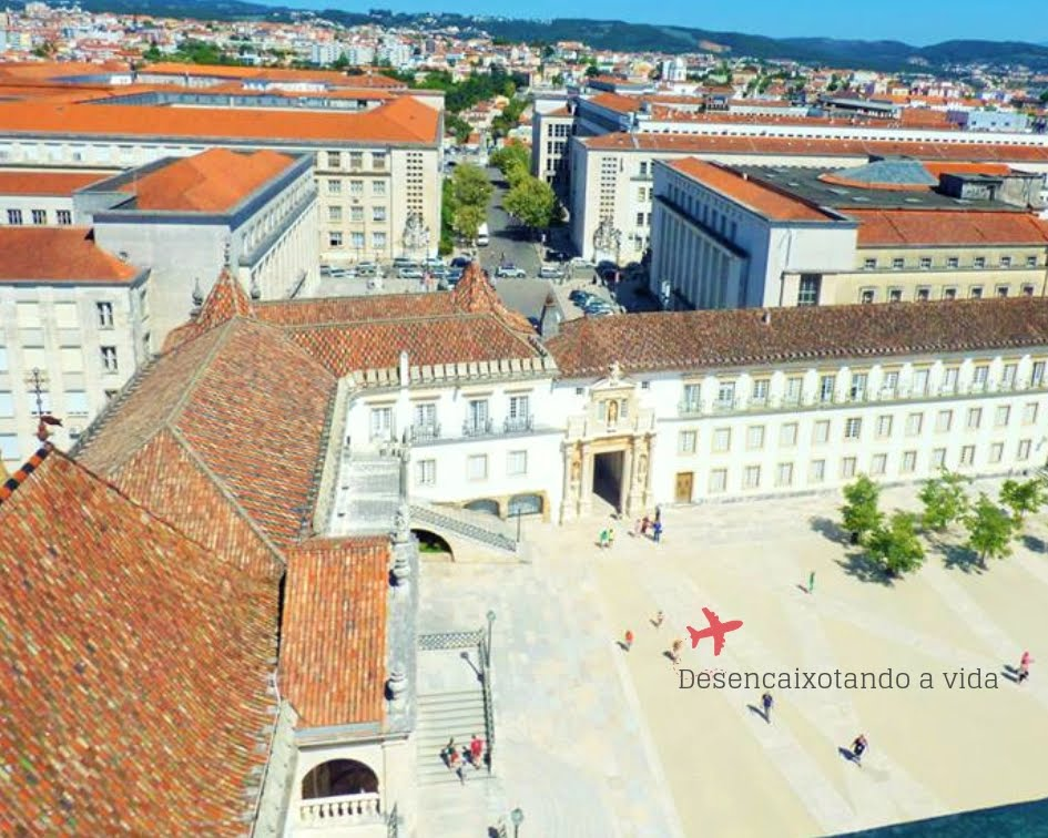 Universidade de Coimbra - Portugal torre da cabra e patio das escolas