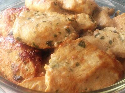 Pierś kurczak marynowana w sosie sojowym