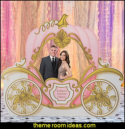 Fairytale Romance Carriage Photo Prop priness party decorating props