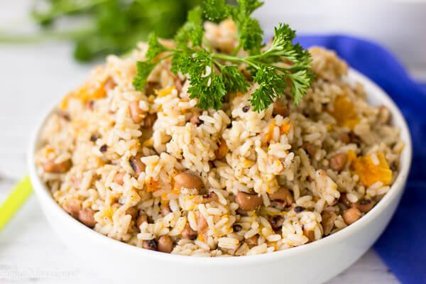 Tobago Black Eye Peas and Rice