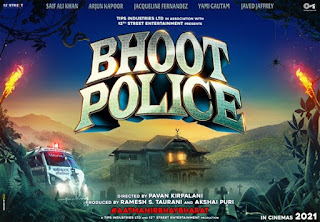 Bhoot Police First Look Poster 1