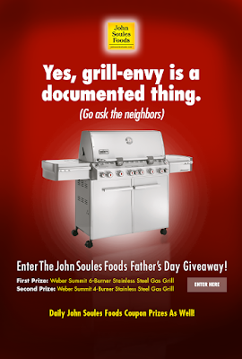 Enter the John Soules Foods Father's Day Giveaway. Ends 6/19