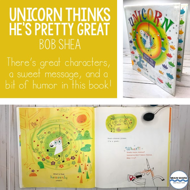 Get students laughing with this funny picture book about a unicorn!