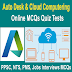 Cloud Computing And Auto Desk Objective Type MCQs Quiz Test
