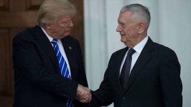 Trump considera al general 'perro rabioso' para el Pentágono